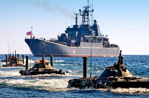 Черноморский флот ВМФ России…