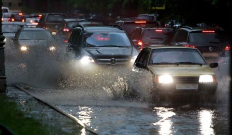 Москву зальют тропические дожди