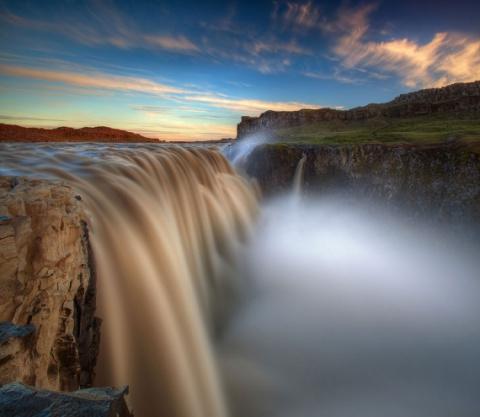 Король водопадов: исландский…