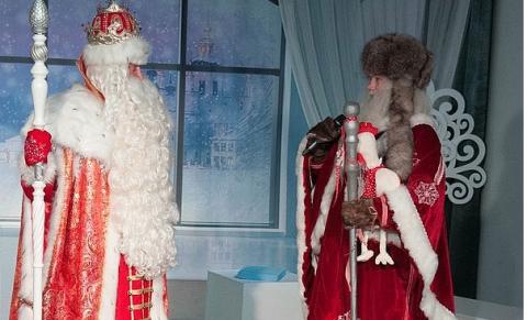 Карельский Дед Мороз Талви Укко едет в Великий Устюг