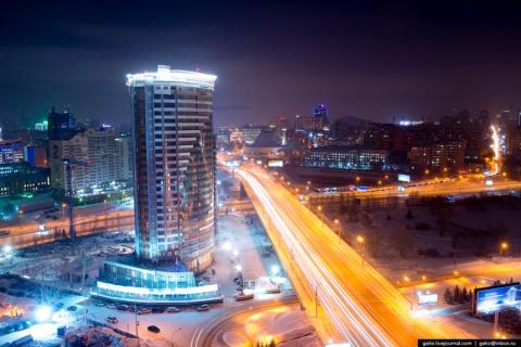Новосибирск - символ разорва…