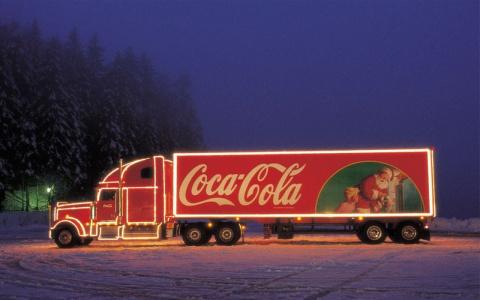 Новогодняя Coca-Cola