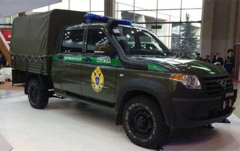Спецавтомобили для пограничн…