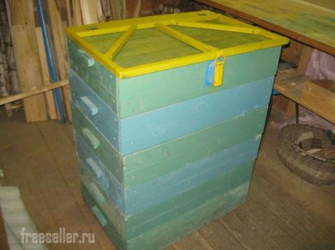 Наборный ящик для хранения овощей и фруктов