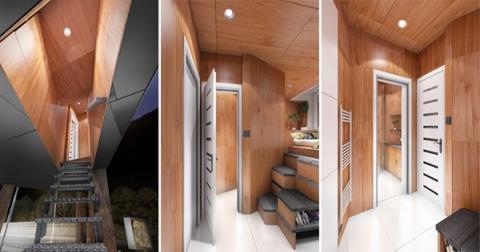 Дизайнеры превратили рекламные билборды в домики для бездомных