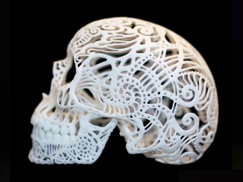 Проломили череп? Распечатай новый на 3D-принтере