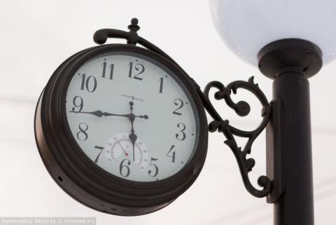 Как производят уличные часы