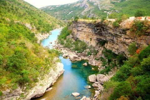 Самый глубокий каньон Европы