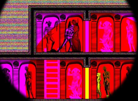CMYK  - психоделическая игра головоломка