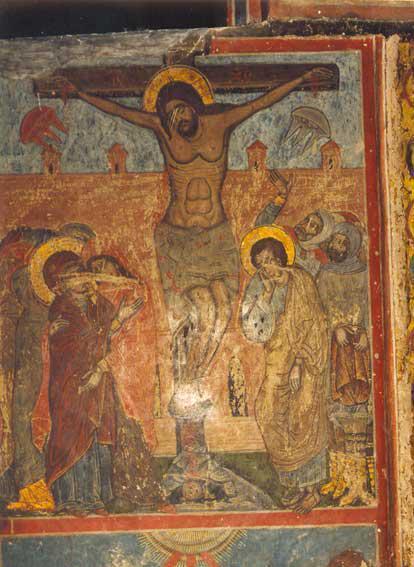 Изображения НЛО на фреске в …