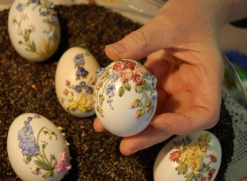 Вышивка на яйцах. Чудо...