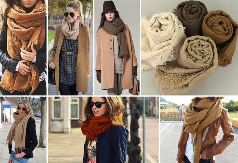 Пора завязывать: как носить шарф, платок, тюрбан, снуд, палантин, косынку.