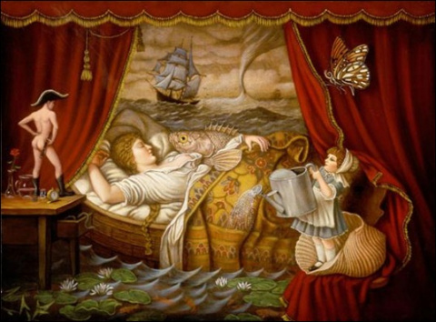Эротические сны у женщин