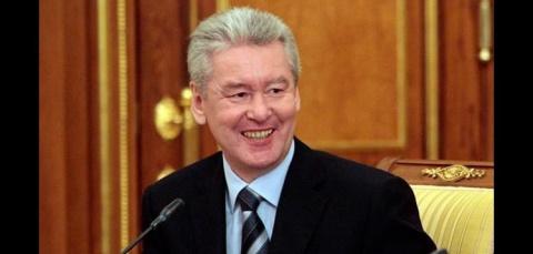 Мэр Москвы Сергей Собянин с …