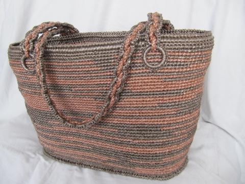 Моя первая вязанная сумка