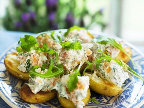 5 идей - как вкусно приготовить и подать молодой картофель