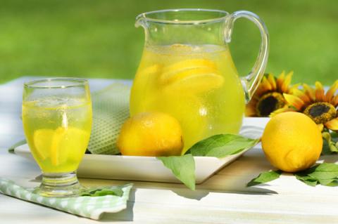 Простой рецепт домашнего лимонада
