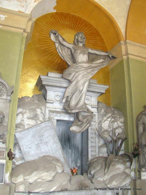 Генуэзское компосанто (кладбище).
