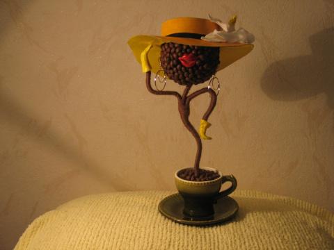 Поделки своими руками зерен кофе фото