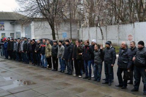 Бегом от АТО: украинских при…