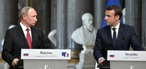 Выступление Путина во Франци…