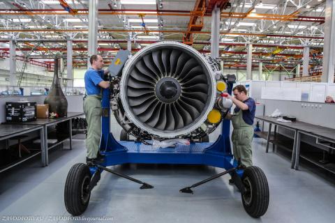 Где делают двигатели для самолетов Sukhoi Superjet 100 (фоторепортаж)