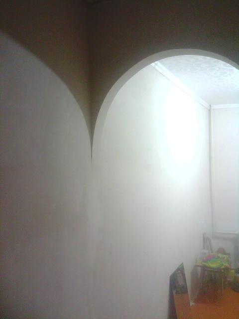 Интерьер арка с колоннами