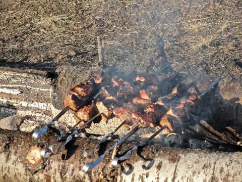 весенние кизеловские шашлычки)))))