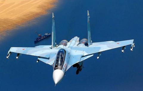 Сотня истребителей Су-30СМ в…