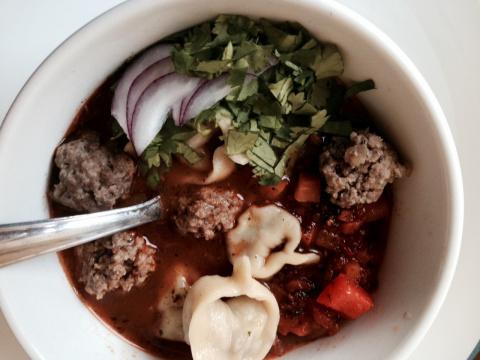Чучвара,или  как давно я хотела приготовить этот суп