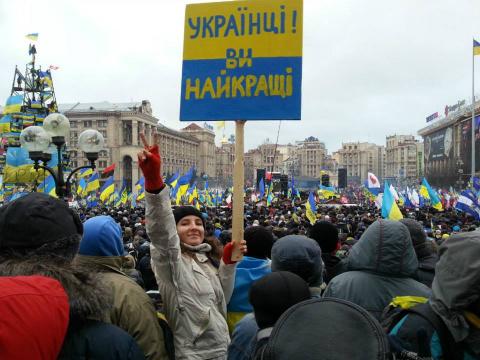 Трансформацию мировоззрения киевлянина работники фирмы наблюдали в реальном времени