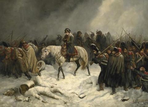 Где спрятал Наполеон награбленное в России