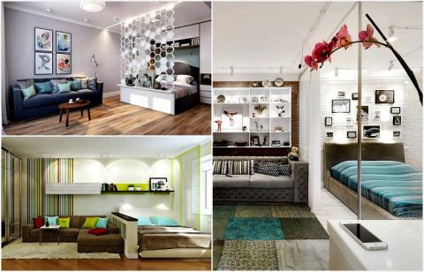 Стильные идеи дизайна гостин…