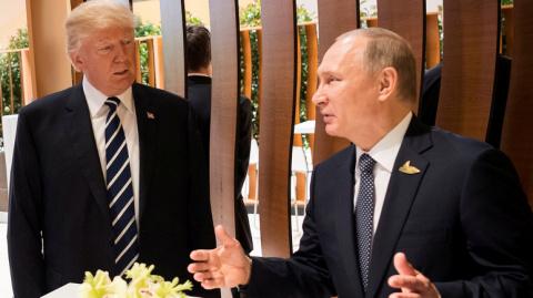 Появилась информация о тайной встрече Путина и Трмапа на ужине в рамках G20