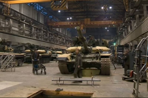 Сирийский опыт: танки Т-90С …