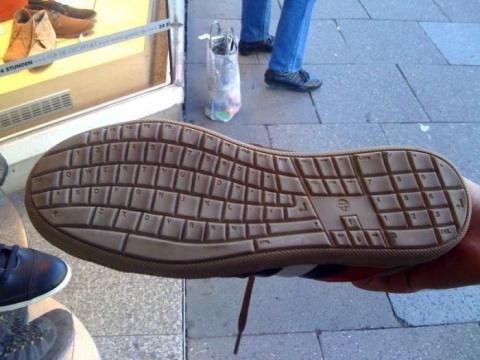 Подошва для компьютерщиков