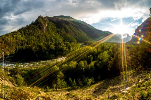 Долина реки Алла — одно из самых красивых мест на земле