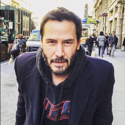 Обращение Киану Ривза к подписчикам:  актер зрит в корень и заставляет себя уважать!