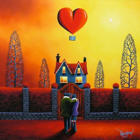 Романтические и яркие картины Дэвида Реншоу