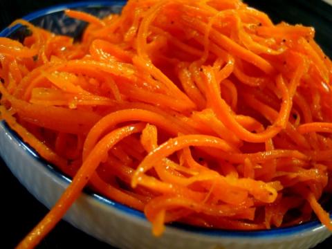Готовим салаты с корейской морковью