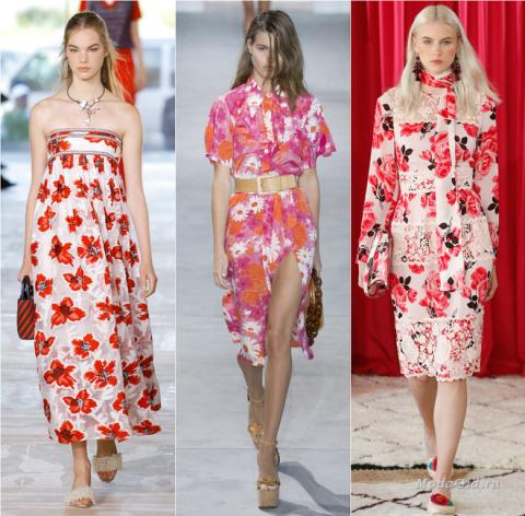 Модные платья сезона весна-л…