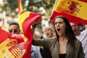 «Это невиданно» — в Испании резко подскочил спрос на национальные флаги
