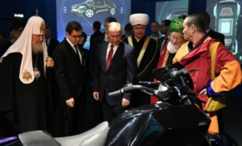 Мотоцикл Путина: глава страны выбрал новый ИЖ