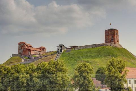 Замки Литвы - Замок Гедимина.