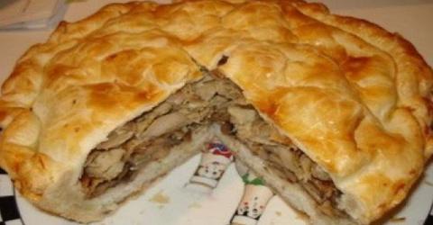 Узбекский курник — царь пирогов!