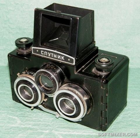 Советские фотоаппараты. Исто…