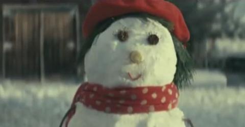 Трогательный рождественский ролик