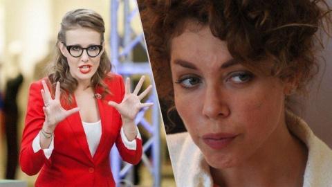 Пауки в банке: Божена Рынска обрушилась с гневными оскорблениями в адрес Собчак