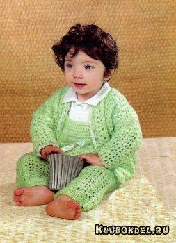 Вязание костюм детский
