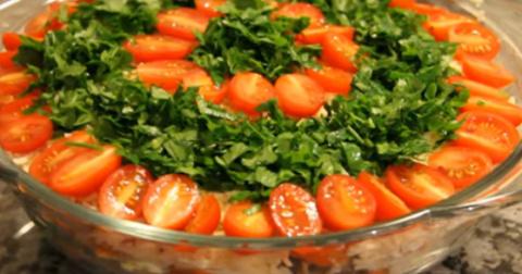 Очень вкусный салат «Шире кр…